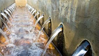 Mit einer temporären Aktion sollen die Reserven der Abschlüsse von Entsorgung + Recycling Zürich (ERZ) Abwasser abgebaut werden. (Symbolbild)