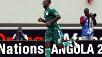 Yakubu traf per Penalty zum 1:0-Sieg Nigerias