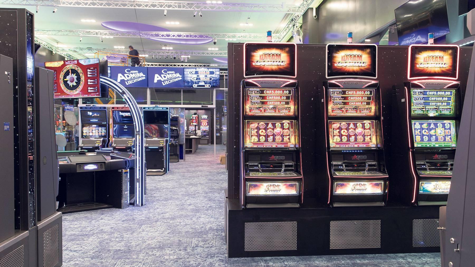 Das Casino Admiral in Ruggell war das erste Casino in Liechtenstein, das nach 170 Jahren seine Türen öffnete.