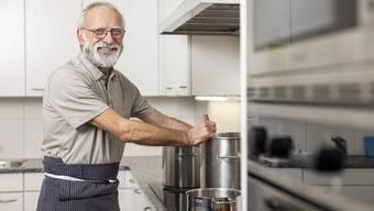 Bruno Essig lernte als Kind einer Grossfamilie früh, für viele Personen zu kochen.