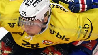 Trägt in der nächsten Saison nicht mehr das Trikot des SC Bern: Captain Martin Plüss