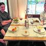 Albi von Felten hat mit seinem Küchenteam – im Bild Pascal Bitterlin, Joël Müller und Florian Ihle (v.r.) – das Menu entwickelt.