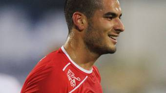 Eren Derdiyok erzielte in der 1. Halbzeit da 1:0 für die Schweiz.