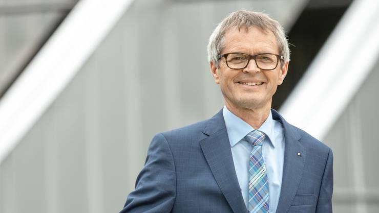 Pius Zängerle leitet seit vier Jahren den Krankenkassenverband Curafutura und hat wichtige Reformen vorangetrieben.  Bild Chris Iseli