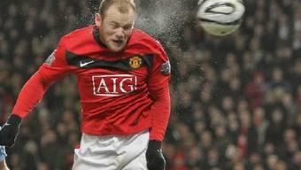 Traf auch im Spitzenkampf gegen Arsenal: ManU-Stürmer Wayne Rooney