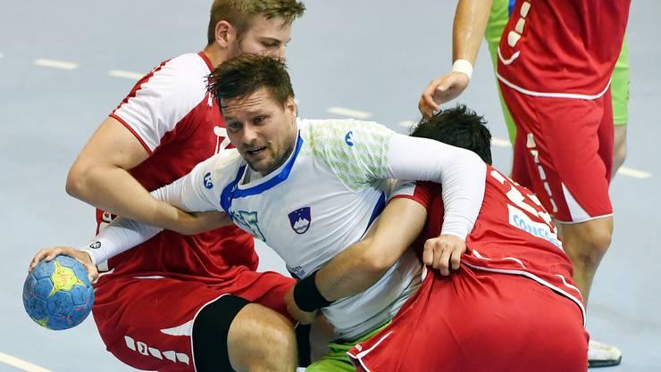 Die Schweizer konnten die Slowenen nicht stoppen.