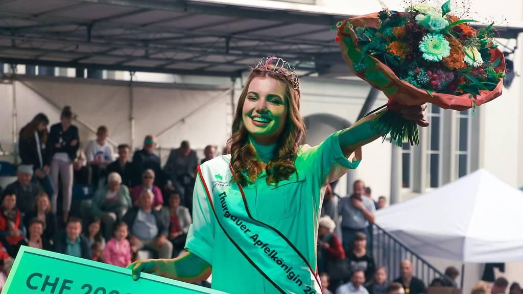 Apfelkönigin Larissa Häberli