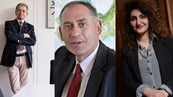 Antonio Loprieno, Hans-Peter Wessels und Sibel Arslan