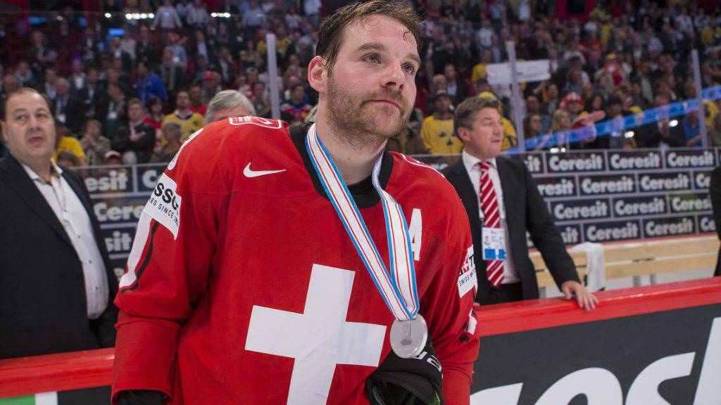 Julien Vauclair nach dem WM-Final von 2013 - die Enttäuschung steht ihm ins Gesicht geschrieben...
