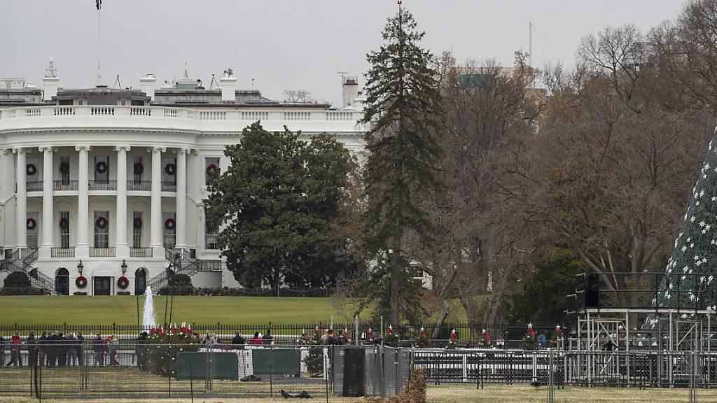 Weisses Haus hält an Boykott von Untersuchung fest