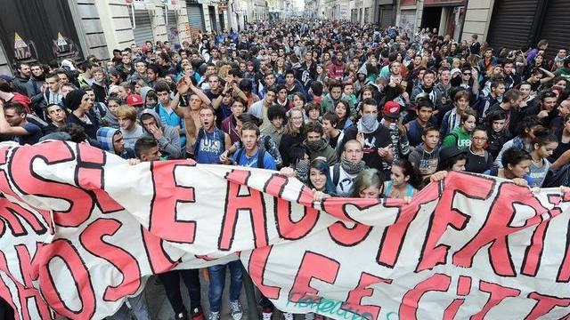 Studenten demonstrieren in Turin