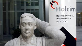 Nach der Mega-Fusion mit Lafarge: Holcim baut in der Schweiz 120 Stellen ab.