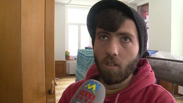 Aslybewerber kritisieren Unterkunft