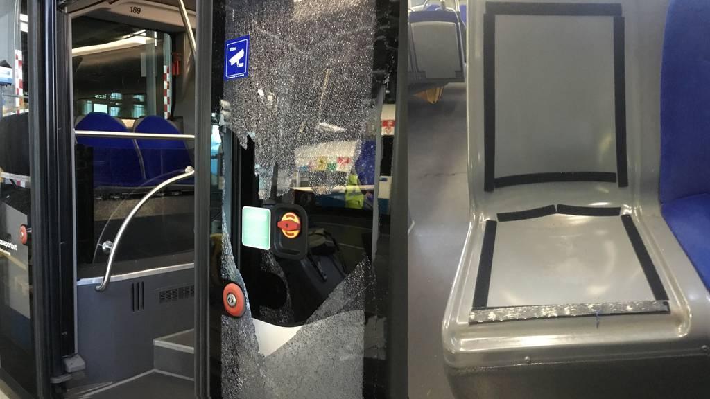 FCSG-Chaoten verwüsten nach Niederlage Extrabusse