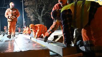 OeBB-Gleise: Nächtliche Bauarbeiten in Balsthal