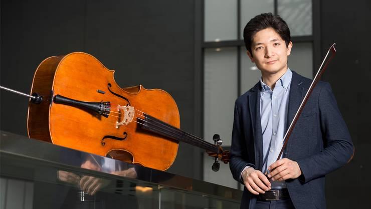 Cellist Michael Michitaro Luginbühl ist Sohn einer japanischen Mutter und eines Schweizer Vaters.