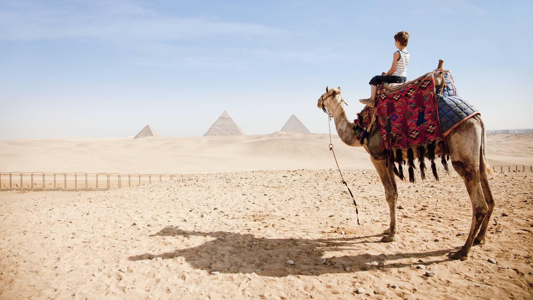 Ägypten hat ein trockenes und heisses Klima.