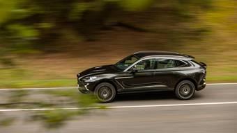 Neu und trotzdem vertraut: Der DBX ist das erste SUV von Aston Martin, nimmt aber innen wie aussen bekannte Design-Merkmale auf.