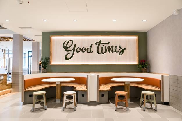 Sieht aus wie ein konventionelles, modernes Café: der neue McDonald's in Schafisheim am Tag vor der Eröffnung.
