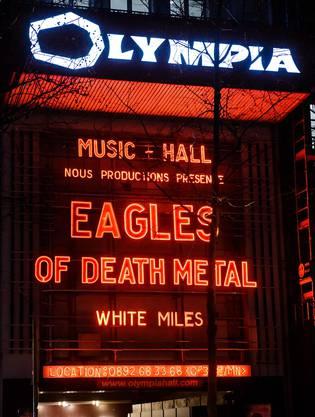 Die Eagles of Death Metal zurück in Paris. (5)