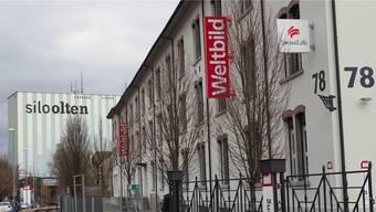 Der Sitz von Weltbild Schweiz in Olten. Noch knapp 30 Mitarbeiter werden hier beschäftigt.