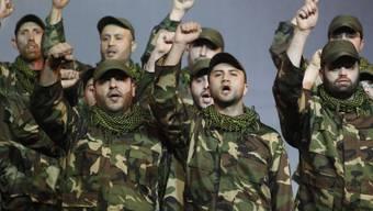 Mitglieder der libanesischen Schiitenmiliz Hisbollah