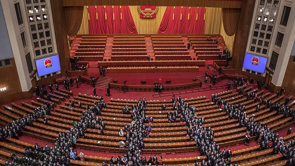 Chinas Führung beschliesst radikale Wahlrechtsreform für Hongkong
