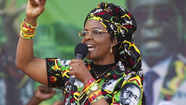Simbabwes First Lady Grace Mugabe.