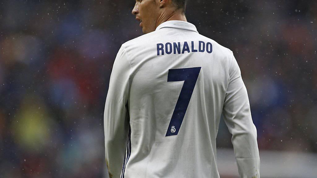 Die Nase voll von Spanien? Real-Star Cristiano Ronaldo