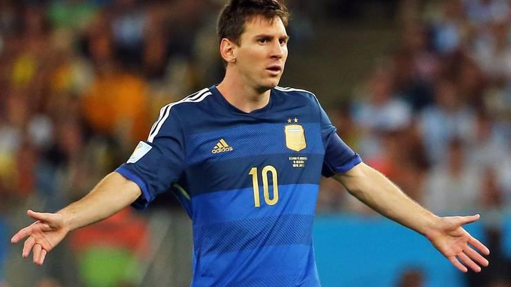 Messi kann nicht in die Fussstapfen Maradonas treten.
