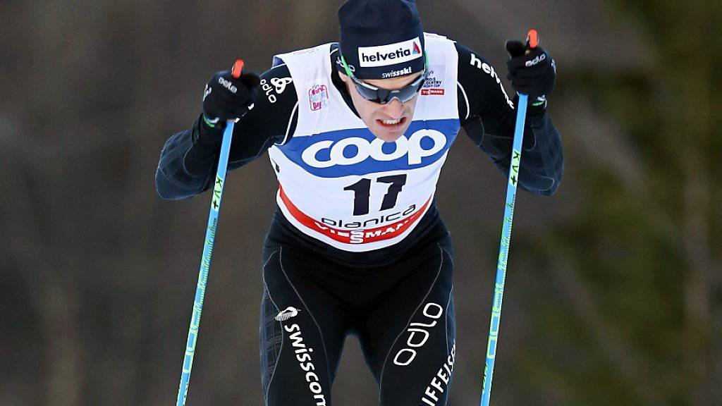 Bester Schweizer zum Auftakt der Ski Tour Canada: Jovian Hediger