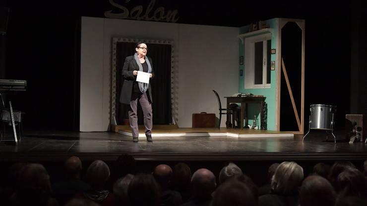 Der Verein Freunde des Stadttheaters Solothurn feiert sein 40-Jahr-Jubiläum. Katharina Rupp führt durch den Abend