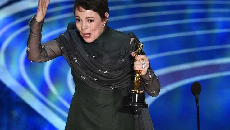 Olivia Colman wurde als beste Hauptdarsteller gewürdigt.