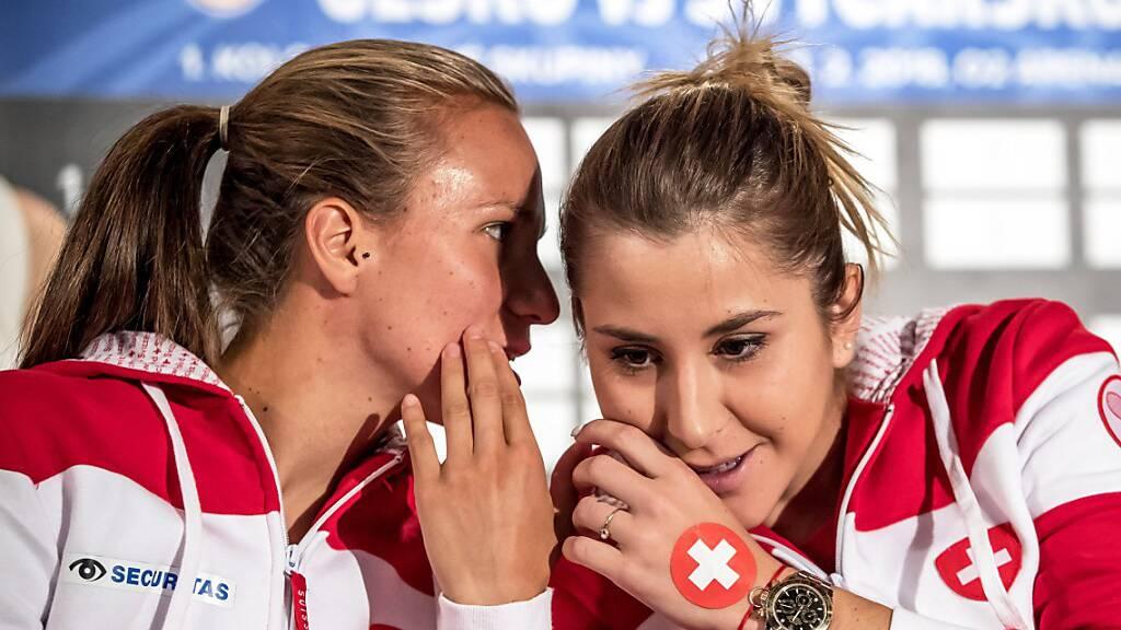 Bencic und Golubic als Hoffnungsträgerinnen von Swiss Tennis