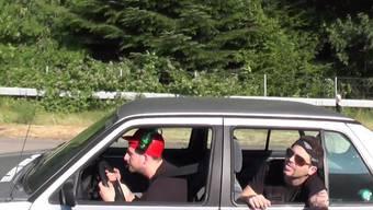 Für «Roadmovie - Endstation Nirvana» war das Team vier Tage mit bis zu 16 Personen unterwegs.