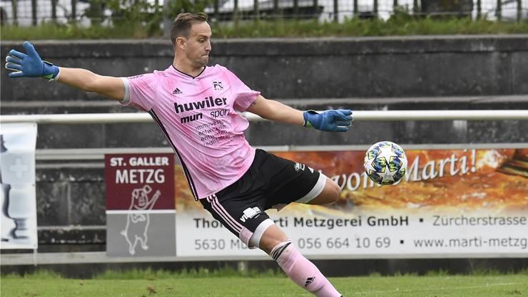 Yanick Hofer und der FC Muri scheiterten im Cup.