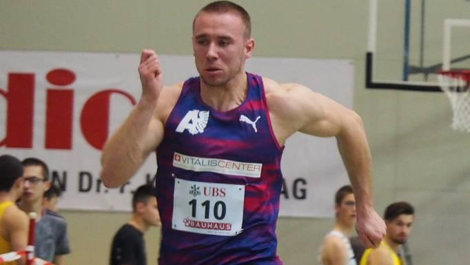 Silvan Wicki schaffte in Langenthal die EM-Limite, den Aargauer- und Vereinsrekord.