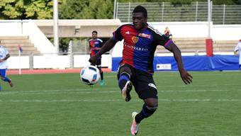 Spieler des Tages: Neftali Manzambi schoss beide Basler Tore.