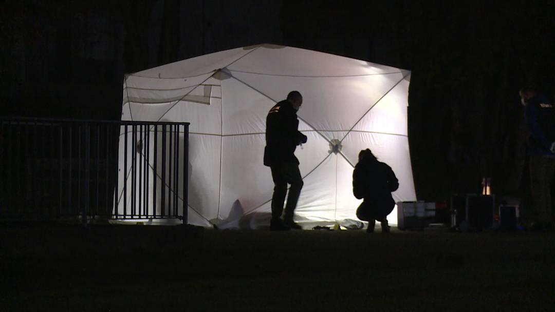 Suhr (AG): Polizei erschiesst mit Messer bewaffneten Mann