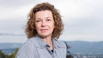 «Beim Schreiben folge ich den Bildern, die auftauchen. Das hat etwas Magisches»: Milena Moser (55) auf der Dachterrasse ihres Verlages in Zürich.