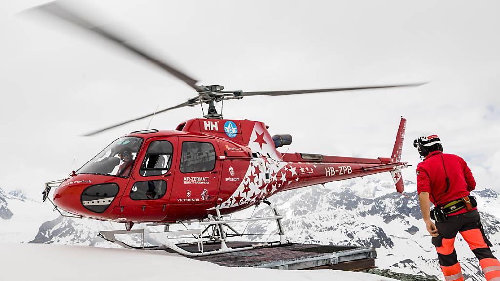 Wegen Corona mussten mehr Bergsportler in Not gerettet werden
