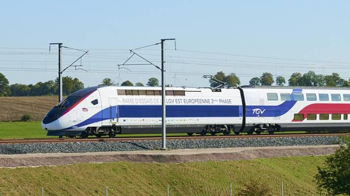 Zug Nach Straßburg