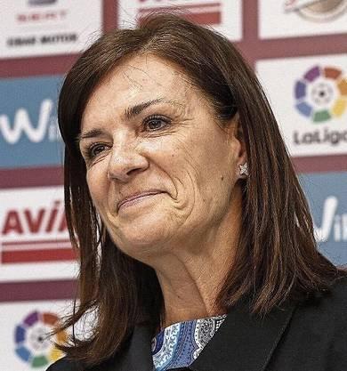 Amaia Gorostiza ist seit 2016 Präsidentin des spanischen Fussballklubs SD Eibar. Sie ist die erste Präsidentin eines Vereins einer Topliga.