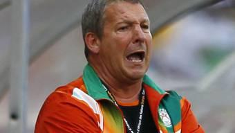 Der Franzose Rolland Courbis muss mit FC Sion in die Barrage
