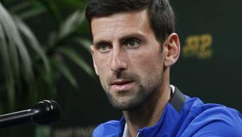 Novak Djokovic begründet seine frühe Niederlage in Indian Wells.