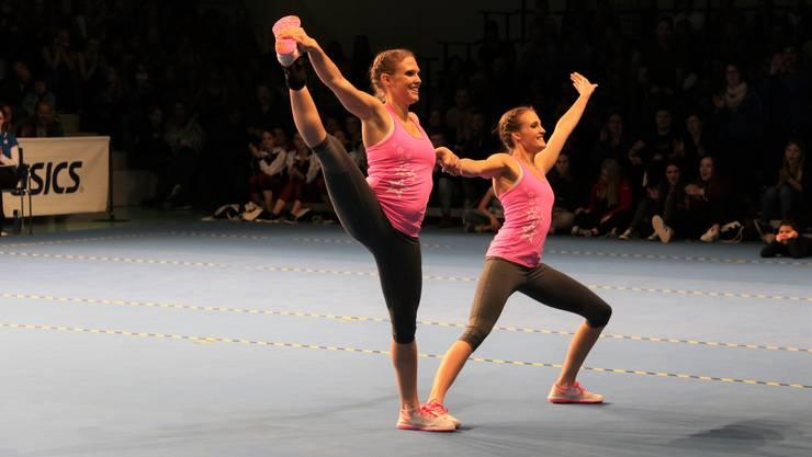 Myriam Schlienger und Corinne Albertini-Schlienger gewinnen den Schweizermeistertitel.