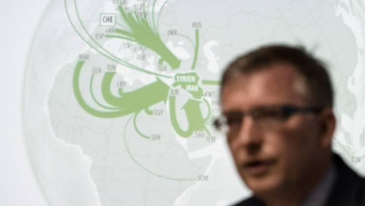 Amnesty kritisiert neues Gesetz für Schweizer Nachrichtendienst: NDB-Direktor Markus Seiler (Archiv)