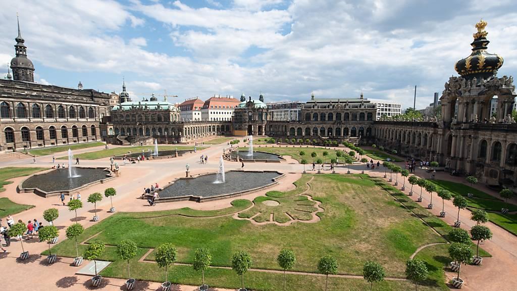 Archäologen suchen nach Barockgarten im Dresdner Zwinger