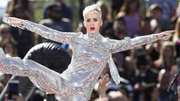 Schillernde Kunstfigur, zweifelnde Privatperson: Katheryn Hudson alias Popstar Katy Perry. (Archivbild)