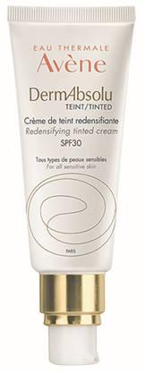 Die getönte Tagespflege «Crème jeunesse du teint» der Linie «DermAbsolu» von Avène (ab Mitte Januar, 47.90 Franken), welche die Haut mit Hyaluronsäure und Jojobaöl strafft, nährt und vitalisiert.